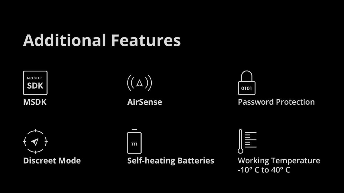 DJI Mavic 2 Enterprise Advanced - Additional Features
